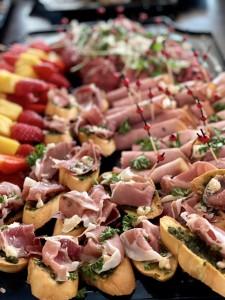 Catering hapjes Brasserie Spiegelaar