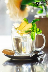 Brasserie Spiegelaar Verse Gember thee Leeuwarden